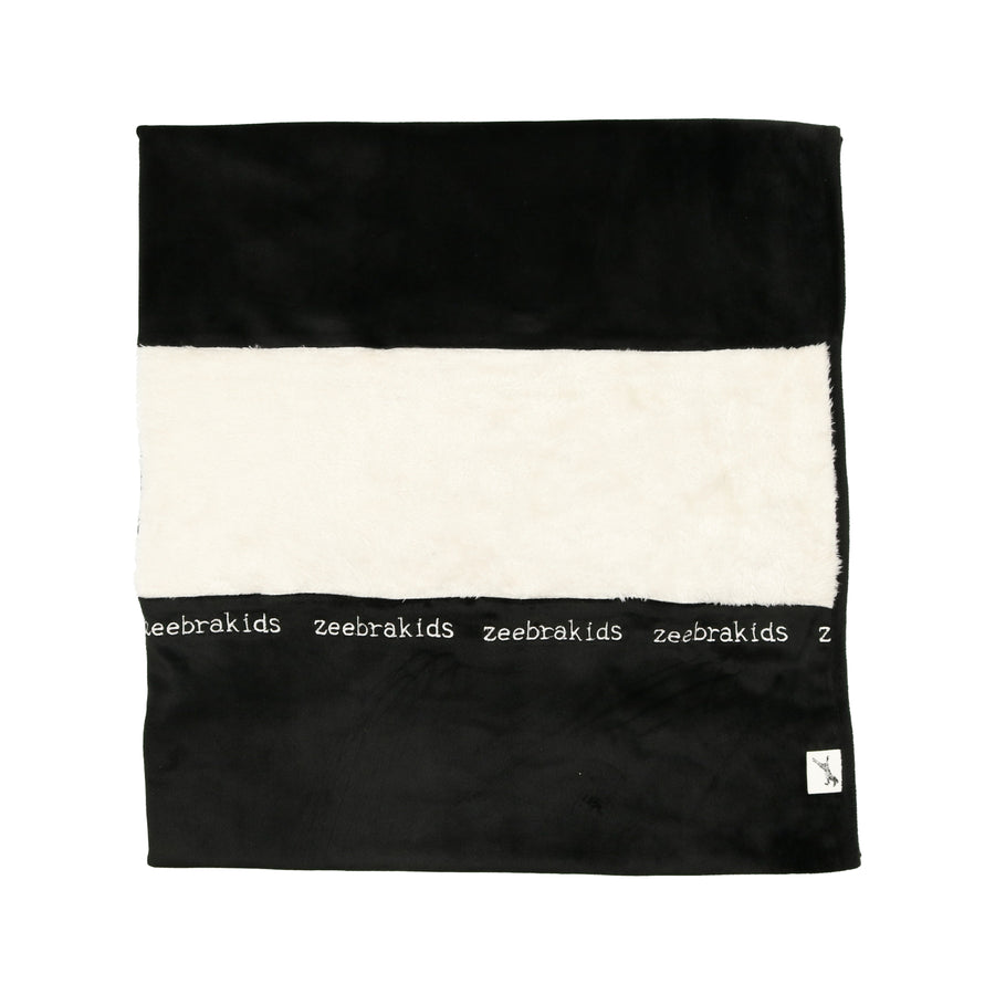 Jet Black Signature Blanket by Zeebra
