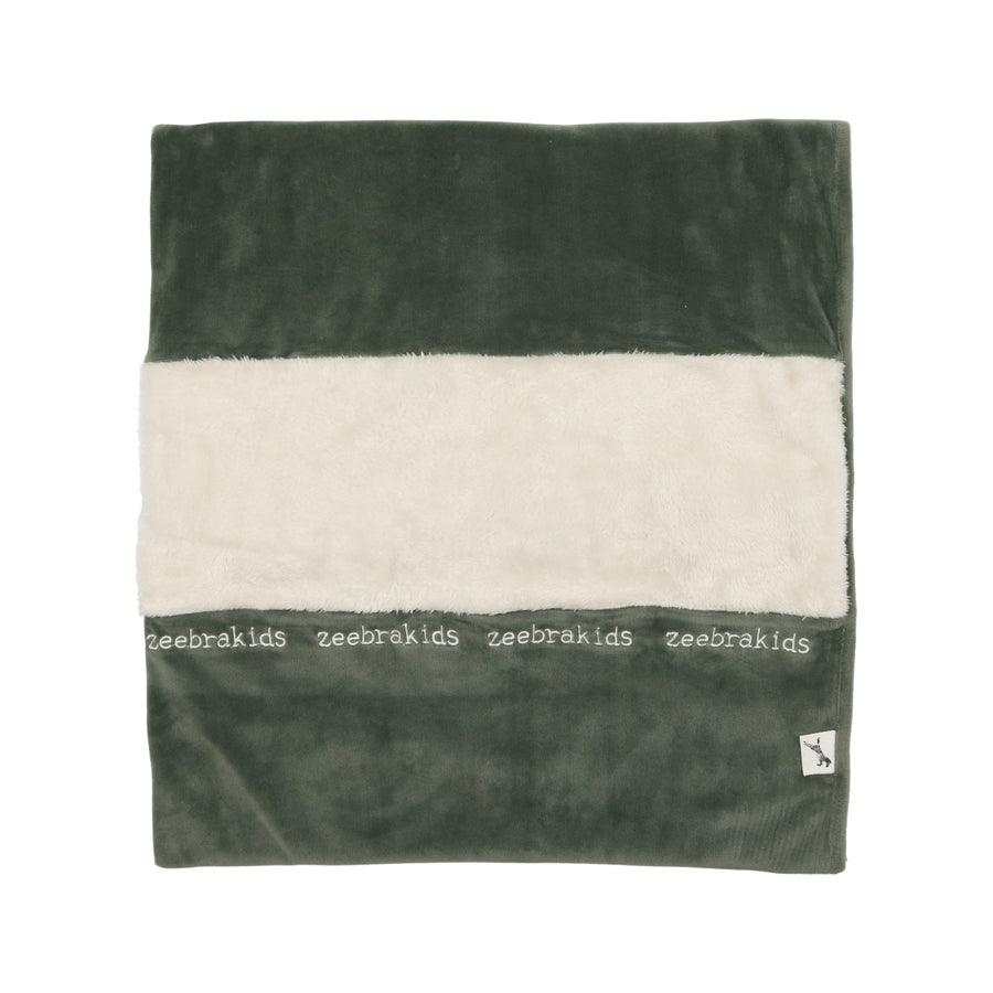 Hunter Green Signature Blanket by Zeebra