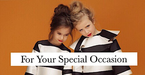 luxury children's clothing for special occasions