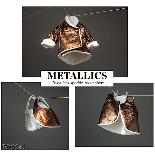 metallic clothing for children