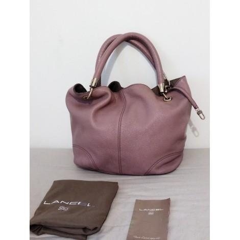 Sac French Flair Lancel cuir lilas