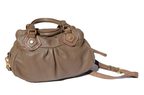 Sac Marc by Marc Jacobs Baby Groove en cuir marron