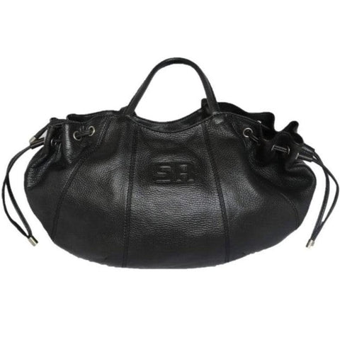 Grand sac Sonia Rykiel cuir noir Grand travelling