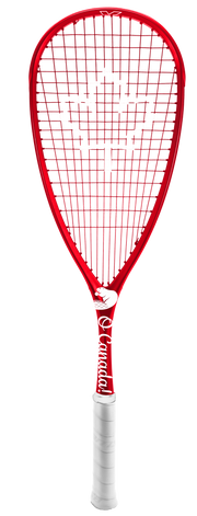 Xamsa Onyx eXposed - O Canada! - Limited Edition Squash Racquet - XamsaSquash