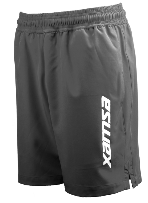 Xamsa Men's Shorts Grey with logo - XamsaSquash