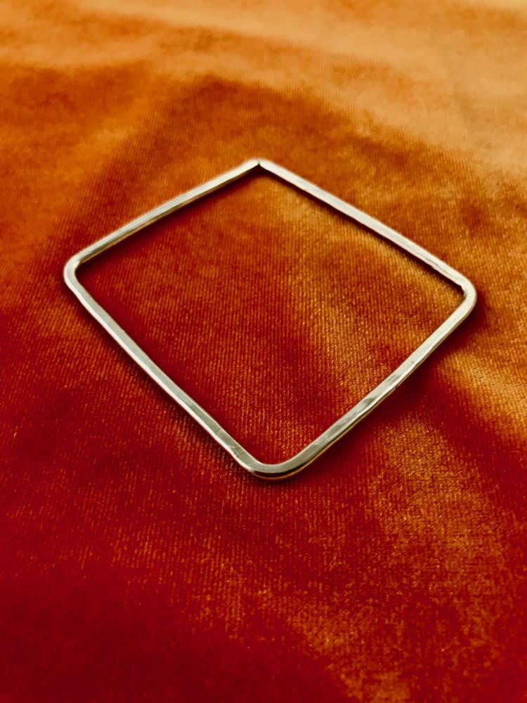 """Hip To Be Square"" Bangle"