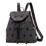 Flowers Luminous Backpack - Geometric Backpack