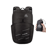 Folding Packable Backpack 25L - Black