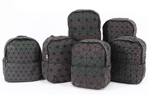 ALL Geometric Backpack - Luminous Backpack Reflective luminesk bags