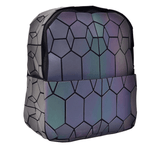Honeycomb Geometric Backpack - Luminous Backpack Reflective luminesk bags