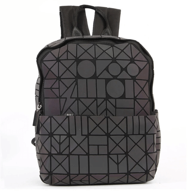 Shapes Geometric Backpack - Luminous Backpack Reflective luminesk bags