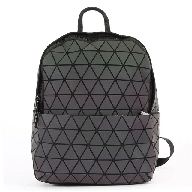 Triangle Geometric Backpack - Luminous Backpack Reflective luminesk bags