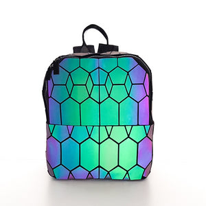 New Geometric Luminous Backpack -  Stand Out Bags