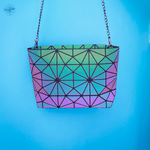 Luminous Chain Messenger Bag - Geometric Bags from Stand Out Bags
