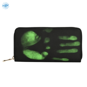 Heat Sensitive Wallet - Green - Stand Out Bags
