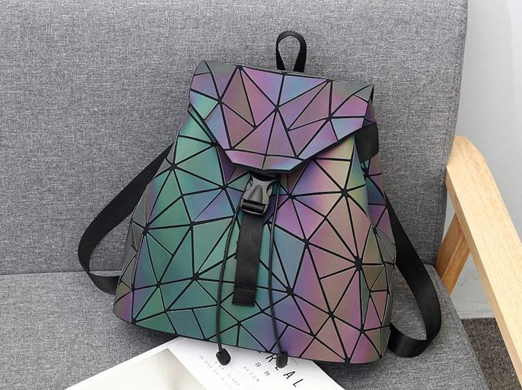 Reflective Luminous Backpack - Geometric Backpack