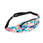 Triangle Pattern Waist Bag