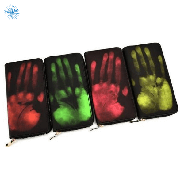 Multi Color Heat Sensitive Wallet - Stand Out Bags