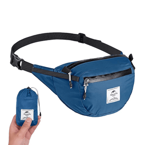 Naturehike Packable Fanny Pack - Foldable Bag - Blue