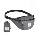 Naturehike Packable Fanny Pack - Foldable Bag - Grey