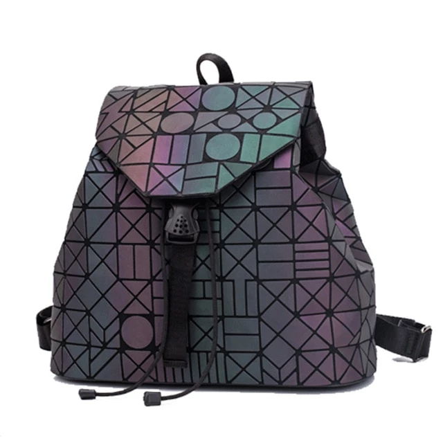 Shapes - Luminous Backpack - Geometric Backpack - Stand Out Bags