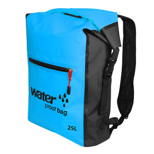 Waterproof Dry Bag Backpack - Blue