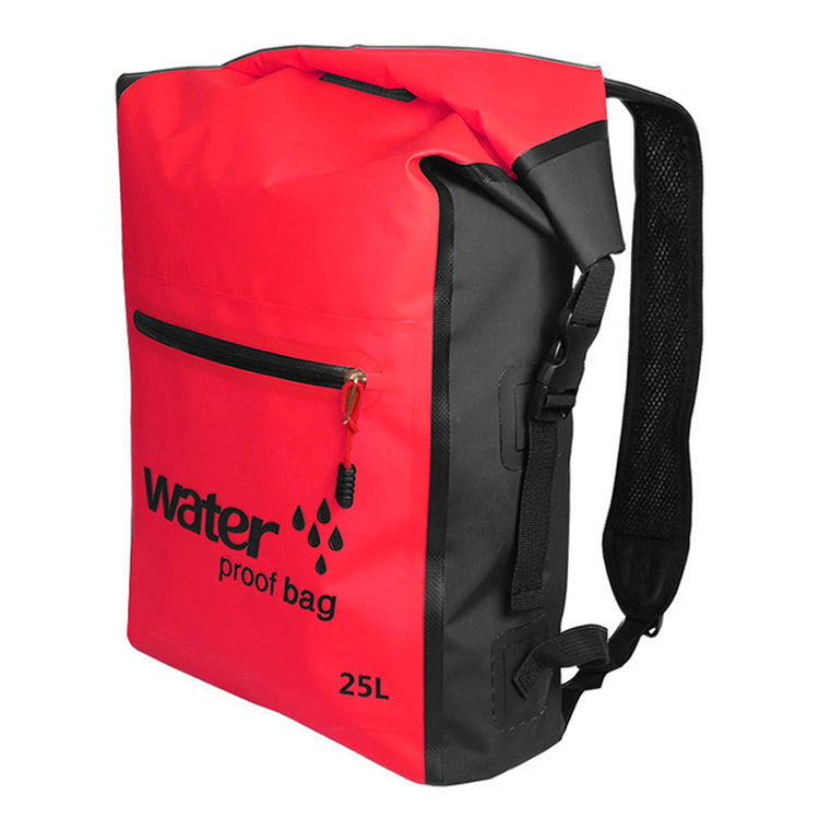 Waterproof Dry Bag Backpack - Red
