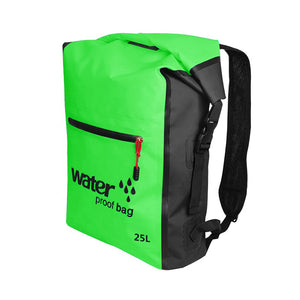 Waterproof Dry Bag Backpack - Green