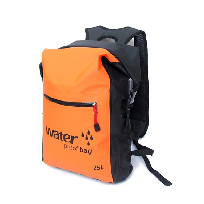 Waterproof Dry Bag Backpack - Orange