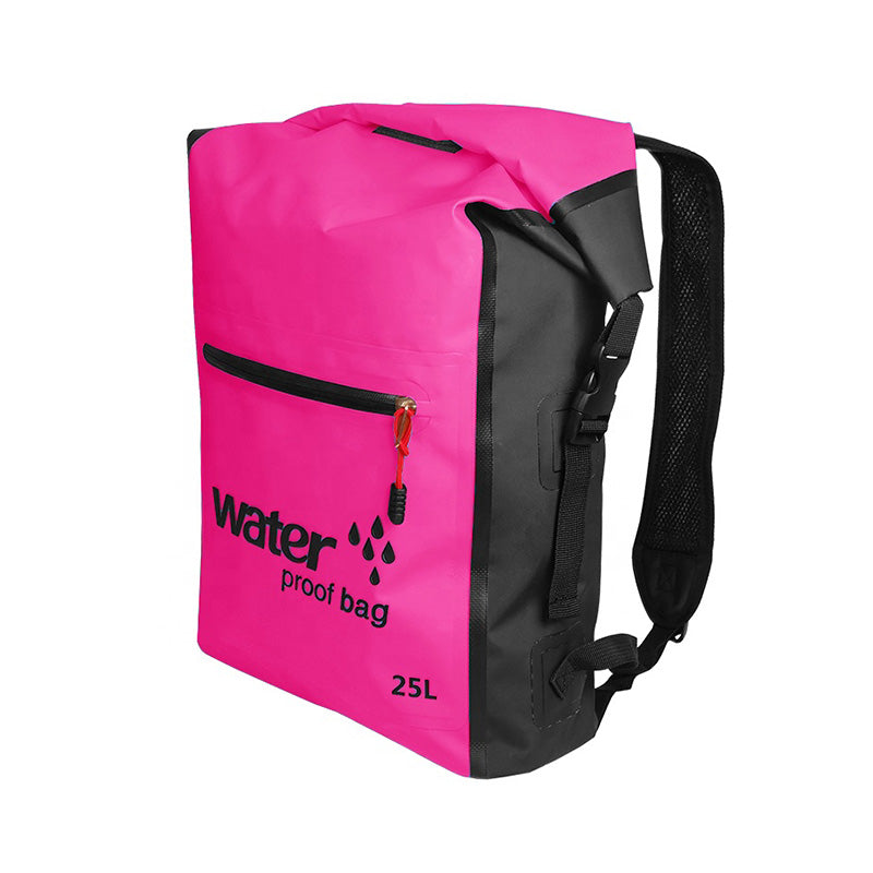 Waterproof Dry Bag Backpack - Pink
