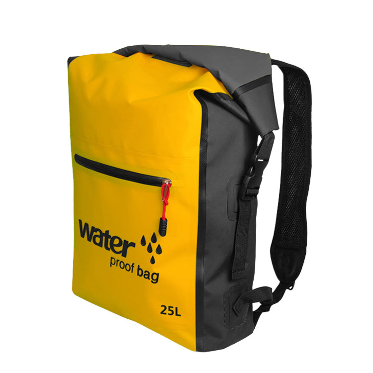 Waterproof Dry Bag Backpack - Yellow