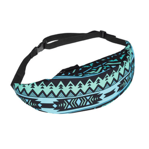 Blue Native Fanny Pack