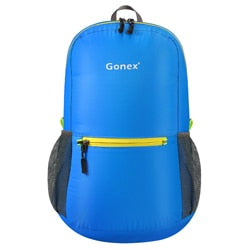 Packable Backpack 20L Gonex - Blue front view