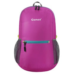 Packable Backpack 20L Gonex - Rose Red Front View