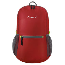 Packable Backpack 20L Gonex - Dark Red Front View