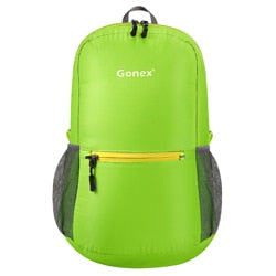 Packable Backpack 20L Gonex - Light Green front view