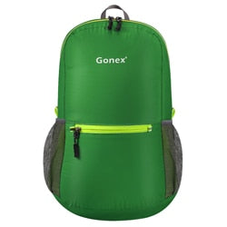 Packable Backpack 20L Gonex - Green front view
