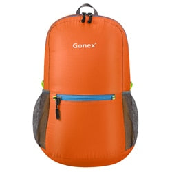 Packable Backpack 20L Gonex - Orange front view