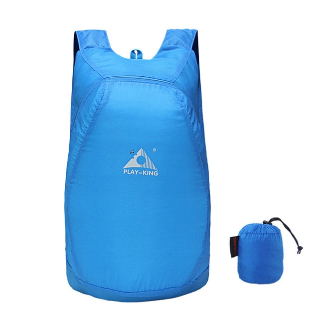 Ultra-lightweight Packable Backpack 20L only 75 grams - Blue