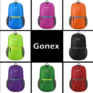 Packable Backpack 20L Gonex - 8 bright color options