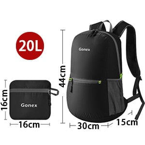 Packable Backpack 20L Gonex - Size