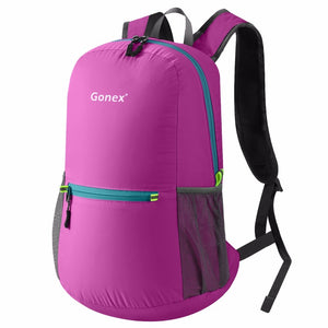 Packable Backpack 20L Gonex - Rose Red
