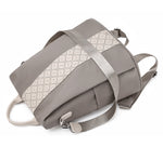 Grey theft proof anti pickpocket backpack
