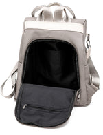 back zipper Anti-Theft Backpack Purse