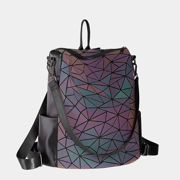 Reflective Luminous Backpack V3 left side