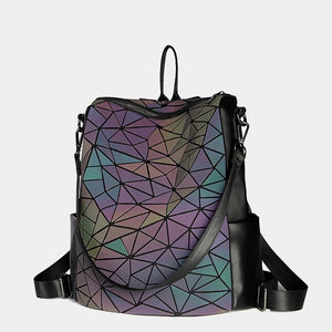 Reflective Geometric Luminous Backpack V3 right side
