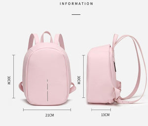Size Anti Theft Backpack for Women  -  Pickpocket Proof Bag