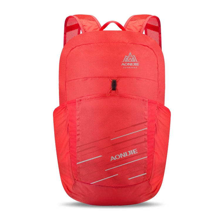 Folding Packable Backpack 25L - Red