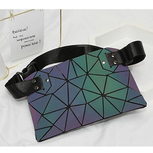 Holographic Luminous Fanny Pack backside