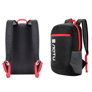 20L Packable Backpack Size back view